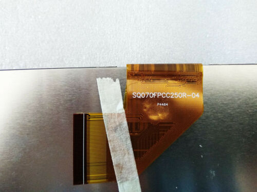 "7/"" LCD Display Matrix SQ070FPCC250R-04 1024*600 50Pins Tablet LCD Screen Panel"