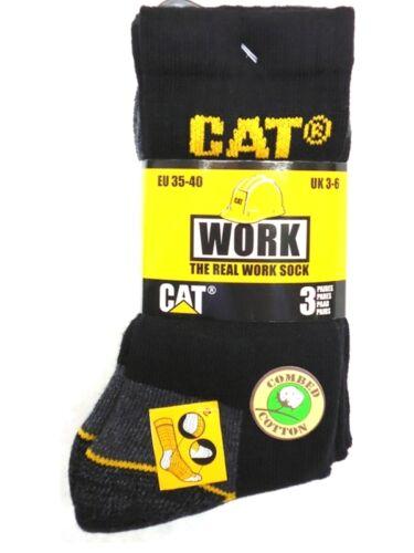 CAT Caterpillar OFFERTA SPECIALE!! 36912 Paia Lavoro da Uomo Nere 35-40