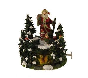 Spieluhr Tanzende Weihnachtsfiguren We wish you a merry Christmas 11536