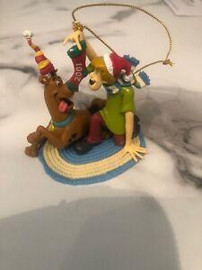 Cartoon-Network-SCOOBY-DOO-amp-SHAGGY-Christmas-Ornament-2001-Hanna-Barbera