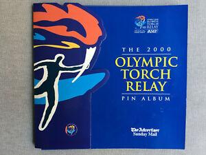 Sydney-2000-Olympic-Torch-Relay-Pin-Album-South-Australian-Edition