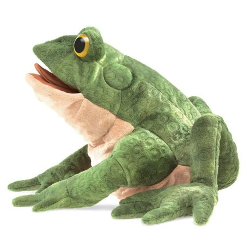 FREE SHIP//USA ~ Folkmanis Puppets TOAD # 3099 ~ NEW for 2017