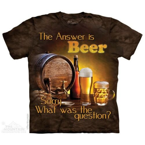 Life Outdoor Sizes S-5XL NEW Beer Outdoor T-Shirt by The Mountain