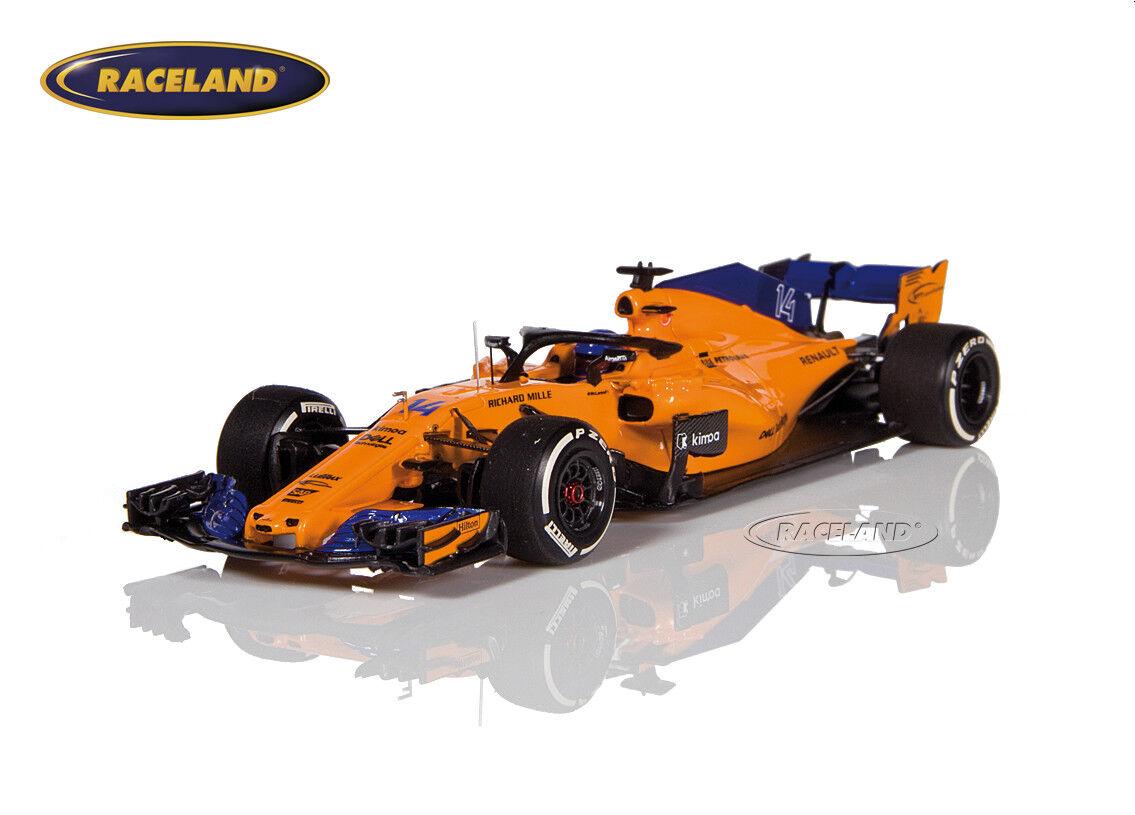 McLaren mcl33 renault f1 2018 Fernando Alonso, Minichamps 1 43, 537184314