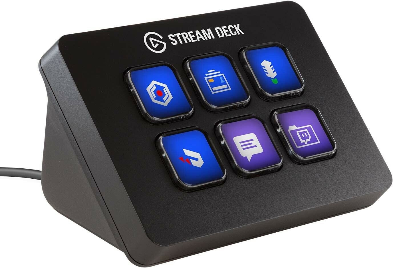 New Pro Stream Deck Gaming Youtube Streaming Controller Customizable LCD Keys UK