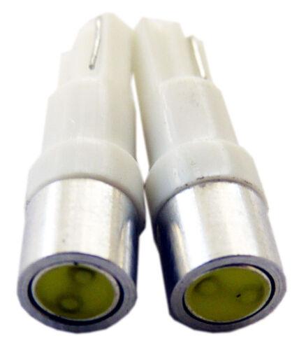 T5 LED BLUE Wedge Instrument Panel Gauge Dash Cluster Light Bulb 17 57 37 73 74