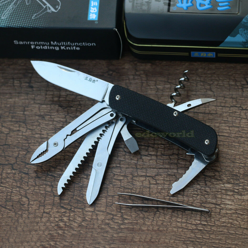 Sanrenmu WA751-A1 12c27 Blade High Outdoor  EDC Multifunction Folding Knife Tool  buy 100% authentic quality