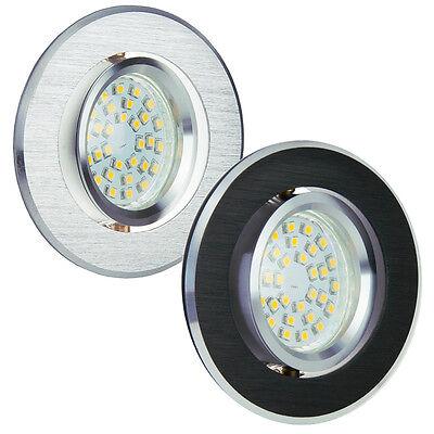 Einbaustrahler GU10 Rund Eckig Alu-Einbaurahmen Einbauleuchte Spot LED OH2X