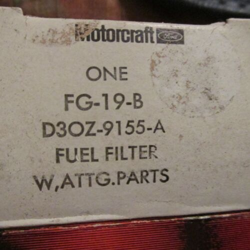 NOS 1973 FORD MUSTANG MACH 1 GRAN TORINO 351C 4V 351CJ FUEL FILTER w CORRECT MAR