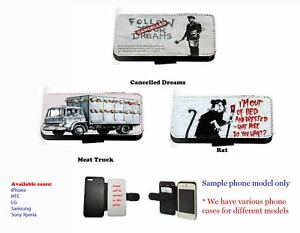 Banksy-Inspired-leather-phone-case-Einstein-Monkey-set-2-for-Samsung-iPhone-HTC