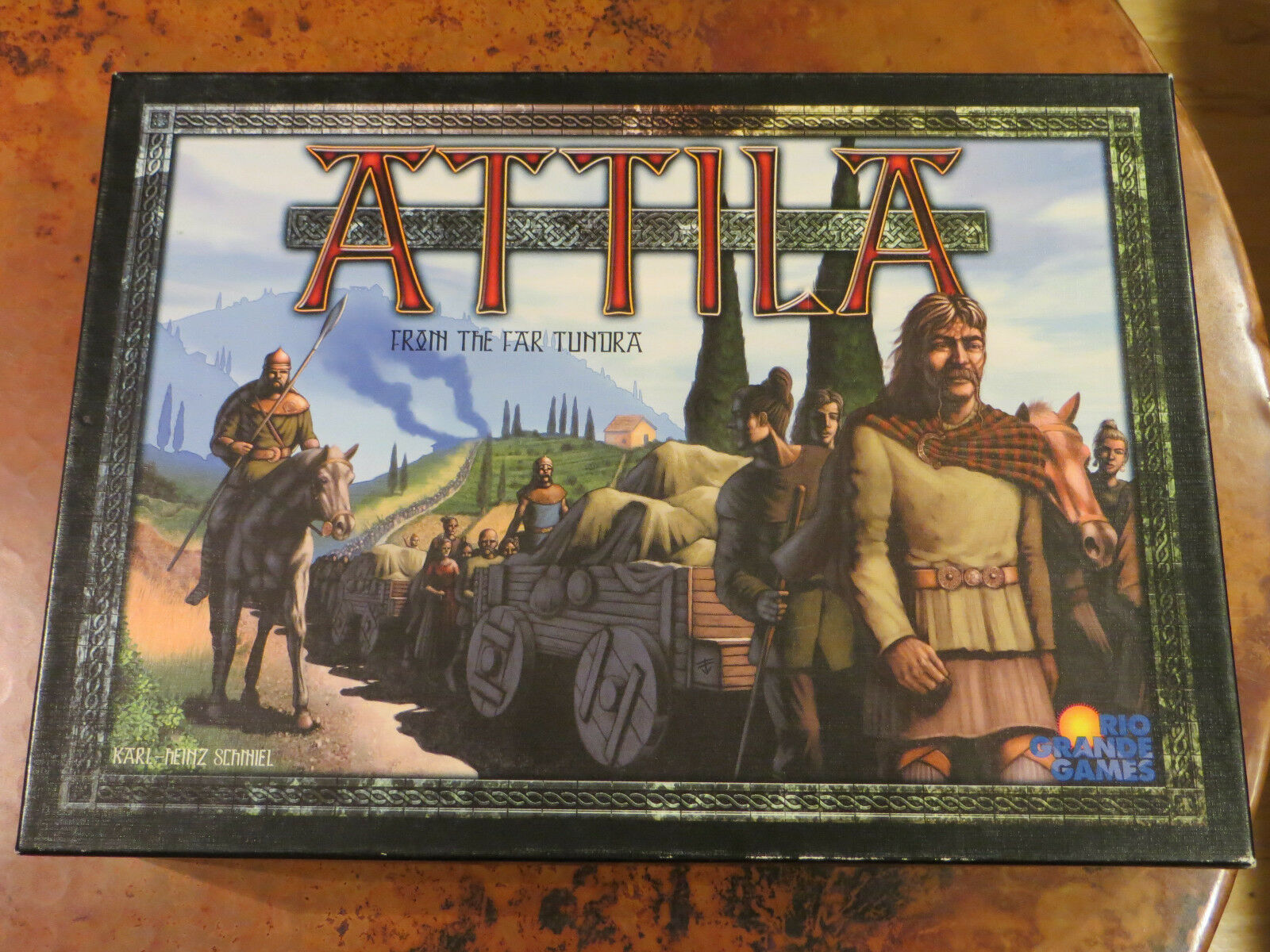 Attila From the Far Tundra - Board Game - Rio Grande Games - Very Rare