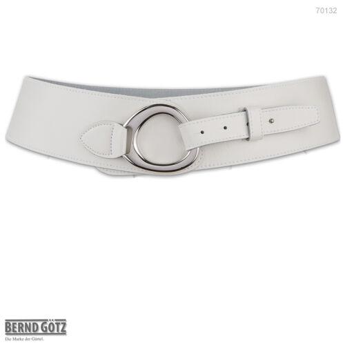 70132 BERND GÖTZ stark reduziert Damengürtel 7 cm breit Hüftgürtel Nappaleder