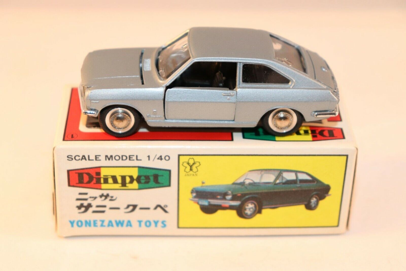 Diapet 223 Yonezawa Sunny Coupe grey in very very near mint condition a beauty