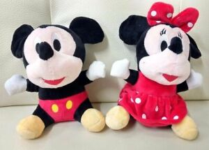 Mickey-Mouse-and-Minnie-Mouse-20cm-Plush-Doll-Plush-Toy-Stuffed-Toy-AU