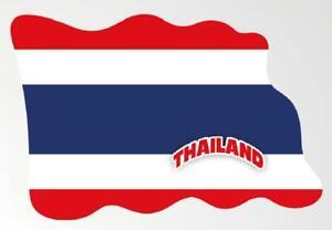 Thailand Magnet Flagge Fahne Länder Design aus Epoxid Reise Souvenir,Neu