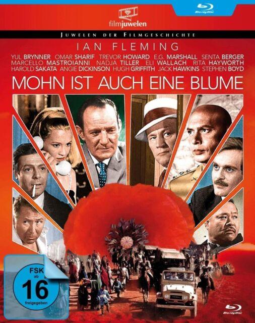 Mohn ist auch eine Blume (Ian Fleming, Yul Brynner) Blu-ray Disc NEU + OVP!