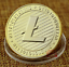 Gold Silver Plated Collectible Miner Art Gift jc Bitcoin!Litecoin!Ethereum Coin