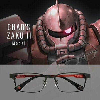 Gundam TV 40th Anniversary Vanity Glasses Char/'s Zaku II model