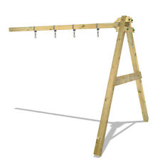 WICKEY Xtra-Swing 290 Holzschaukel Anbauschaukel Spielturm