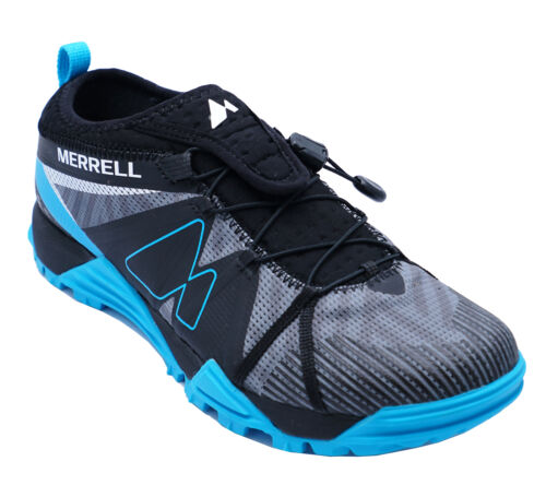 Homme Merrell avalaunch Bleu Course Gym Marche Casual Sports Trainers 7-12