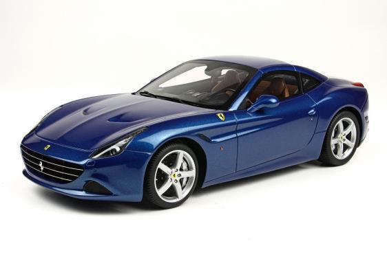 BBR Ferrari California T Cerrado Techo Azul 1:18 P1880B  un. Edición Limitada  Nuevo artículo