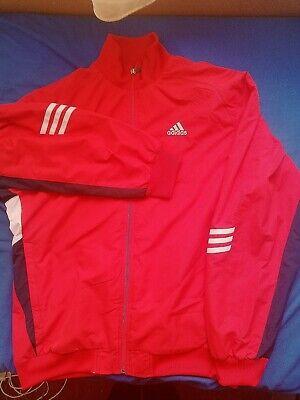 Adidas Sportjacke M Clima 365 rot | eBay