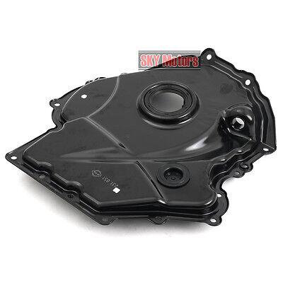 Crankshaft Oil Seal Mount Bracket Timing Cover Pan For VW AUDI 1.8 TSI 2.0 TFSI