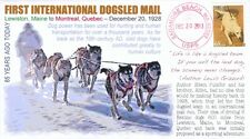 COVERSCAPE computer designed 85th first International Dogsled Mail event cover