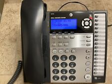 Atampt 1070 Small Business System 4 Lines Corded Phone Euc