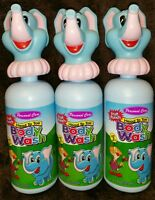 (3) Personal Care Fruit Punch Head To Toe Body Wash For Kids 3+ 11 Oz Each