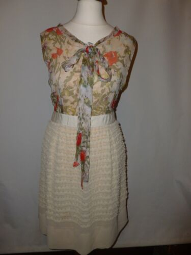 Si Silk Pure adatta 10 S Dress Size Look Darling Vintage Uk 8C6qx4