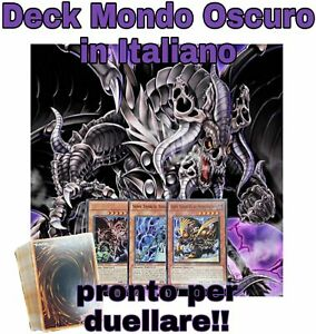 Yu-Gi-Oh-Deck-Completo-Mazzo-MONDO-OSCURO-40-Carte-ITALIANO-MYDECK