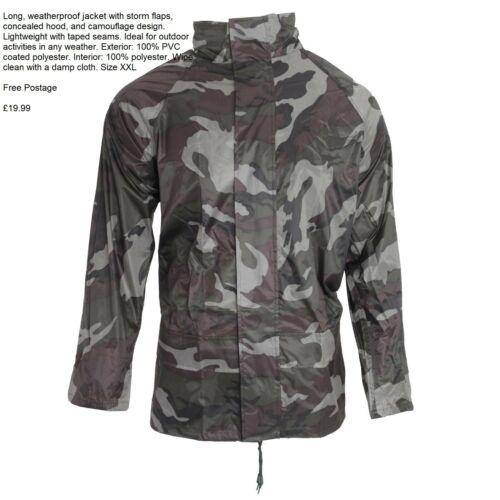 Arctic Storm Mens Camo Weatherproof Jacket XXL
