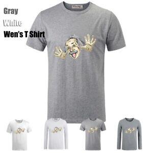 Cute-Albert-Einstein-Cartoon-Graphic-Long-Short-Sleeves-Men-039-s-Boy-039-s-T-Shirt-Tops