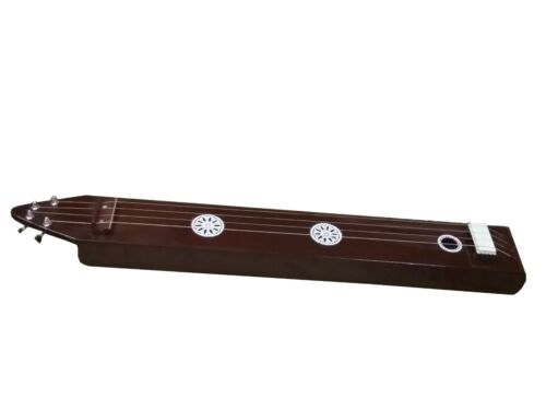 BOX TANPURA~4 STRING~TAMBURA~TANPURI~TUN WOOD~HANDMADE INDIAN~CHANT~MANTRA~YOGA