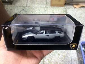 New 1 43 Scale Diecast Model Car Lamborghini Countach Evoluzione