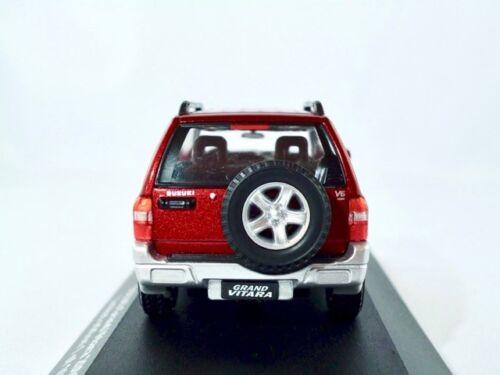 SUZUKI GRAND VITARA 2001-2005 rouge métallisé//Triple 9 Premium 1:43