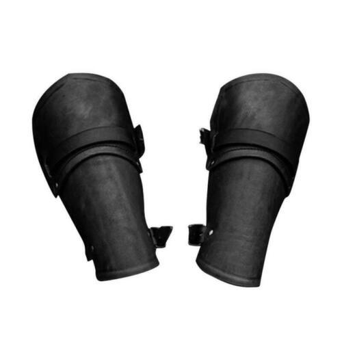 Black//Brown Imitation Leather Bracer Arm Guard Armor Archery Protection Glove