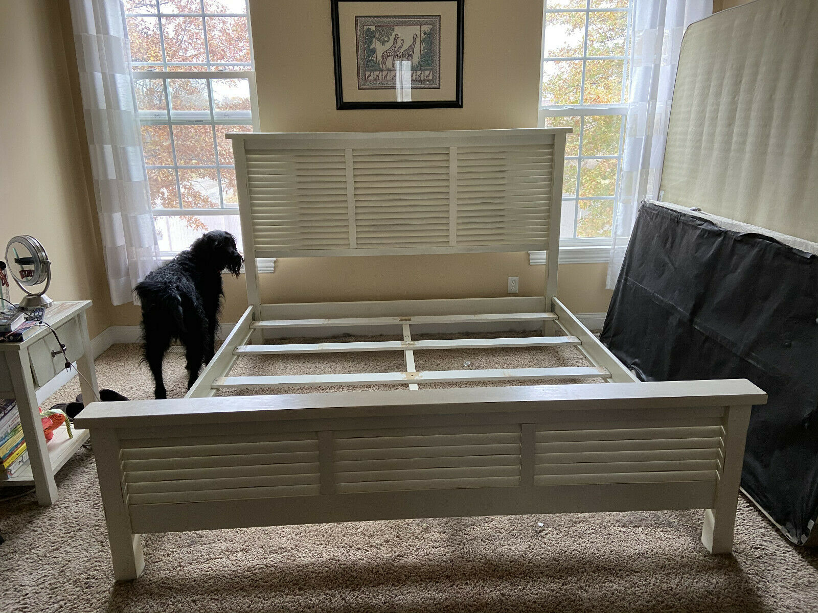 Pottery Barn Stratton Bed With Drawers And Headboard For Sale Online Ebay