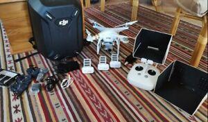Drone DJI Phantom 3 Pro 4K et accessoires