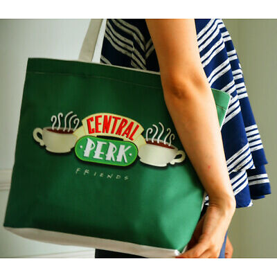 TV Series FRIENDS Central Perk Canvas Shoulder Bag Neverfull Shopping Bags Purse