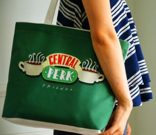 TV Series FRIENDS Central Perk toile épaule sac Neverfull Sacs Shopping Sac à main