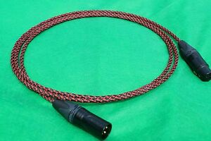 5/' FT PURE SILVER PLATED MIL-SPEC RCA TO BALANCED XLR FEMALE INTERCONNECT CABLE.
