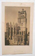 Photographie Ancienne - Papier Salé - Cathédrale de Béziers - Vers 1850