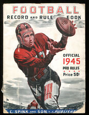 1945 Sporting News Official Football Guide