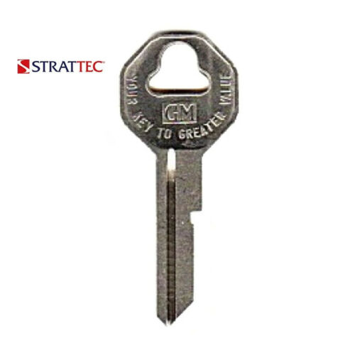 Strattec Replacement for GM B10 Uncut Key Blank 10 Pack 32318