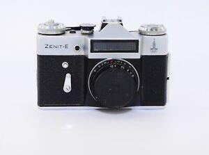 """Zenit E OLYMPIA EDITION seltene Sowjetische SLR Film Kamera mit S Objektiv """"Industar - 50"""" EXC"""