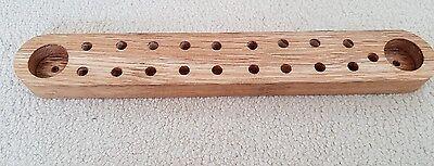 fly tying clip/varnish holder
