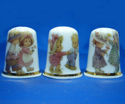 Children Pairs Set of Three Birchcroft Thimbles