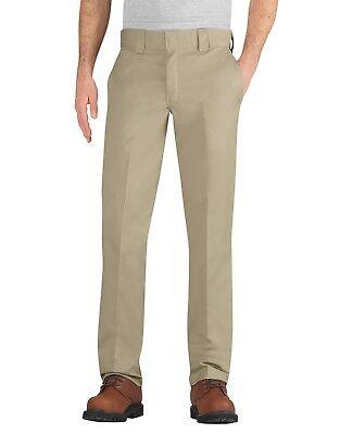 Dickies Mens Black FLEX Slim Fit Taper Leg Multi-Use Pocket Work Pants WP596BK